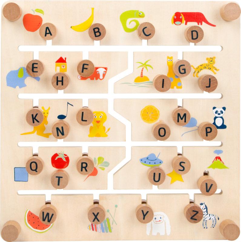 Edukatívna tabuľka anglická abeceda a čísla