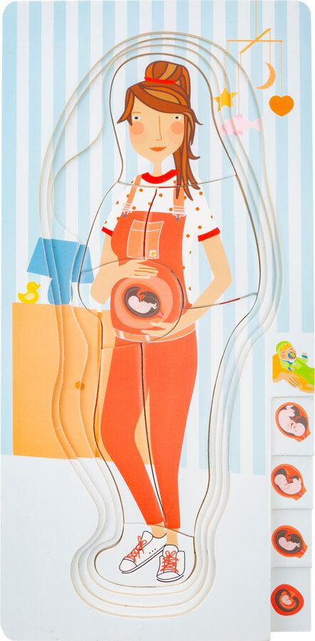 Puzzle tehotenstvo