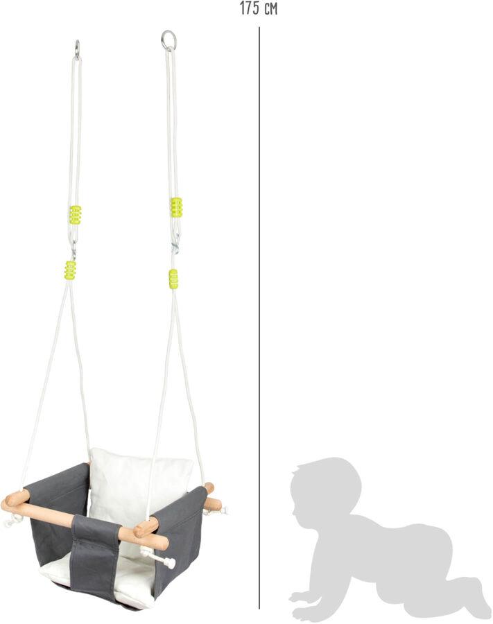Hojdačka mäkká pre menšie deti