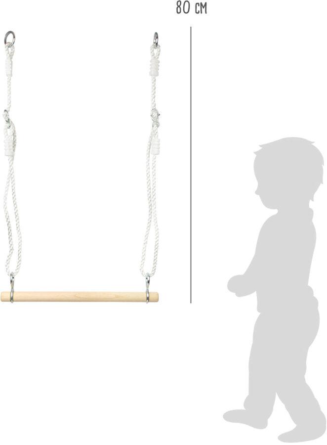 Drevená hojdačka Trapeze