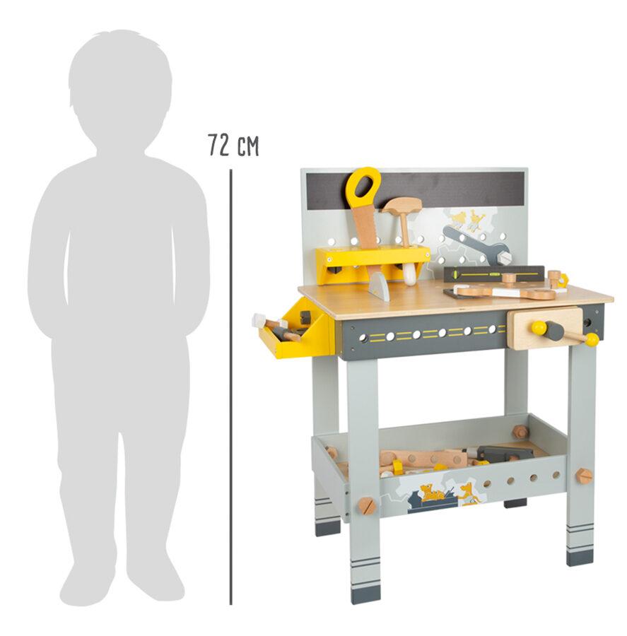 Pracovný pult pre malých majstrov