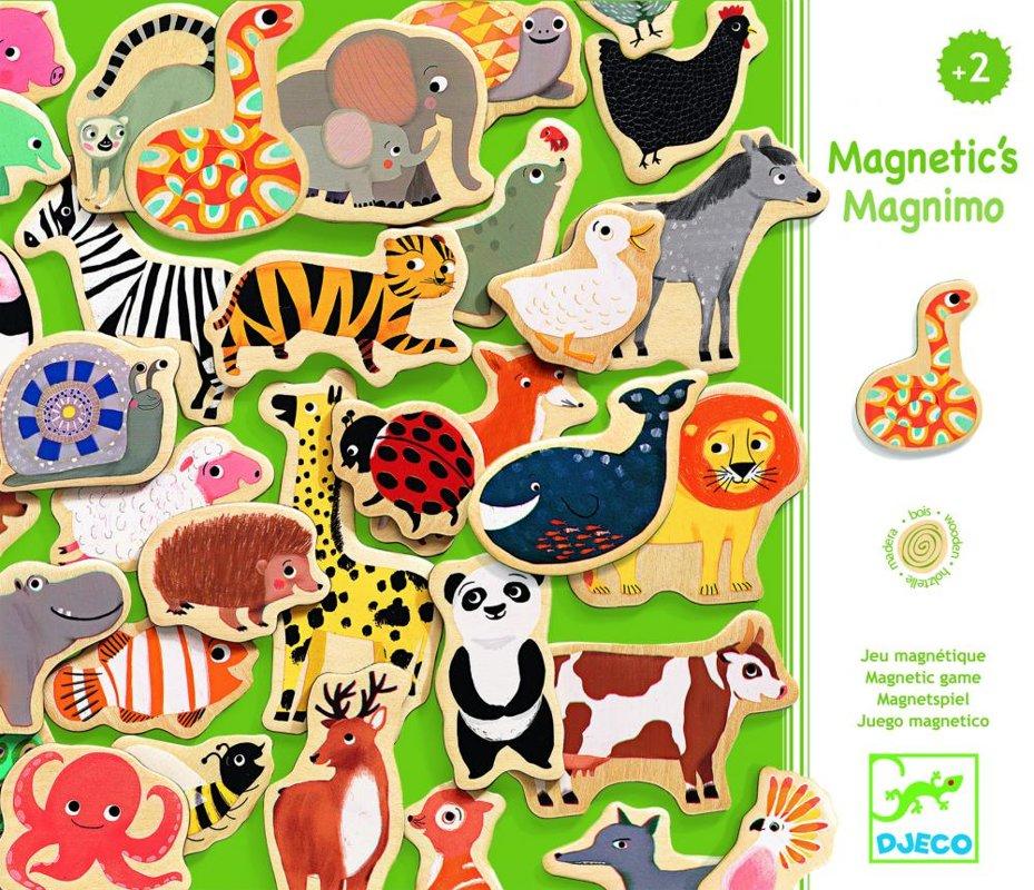 Drevené magnetky Magnimo