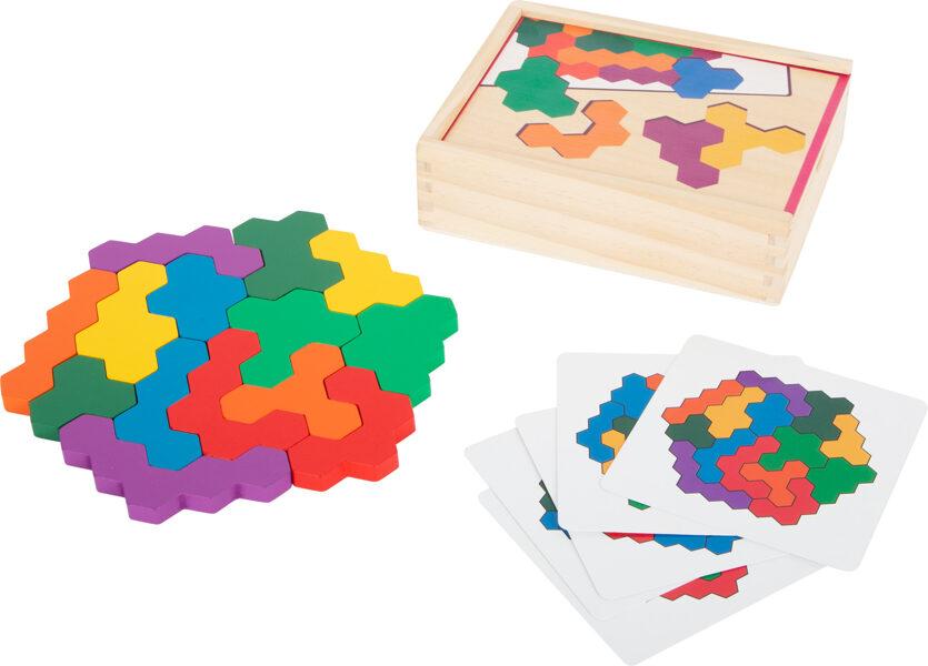 Logická hra Hexagon