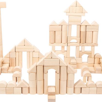 Drevené hračky a stavebnice