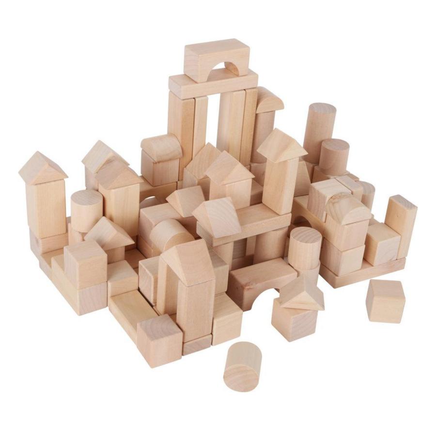 Drevené kocky a stavebnice