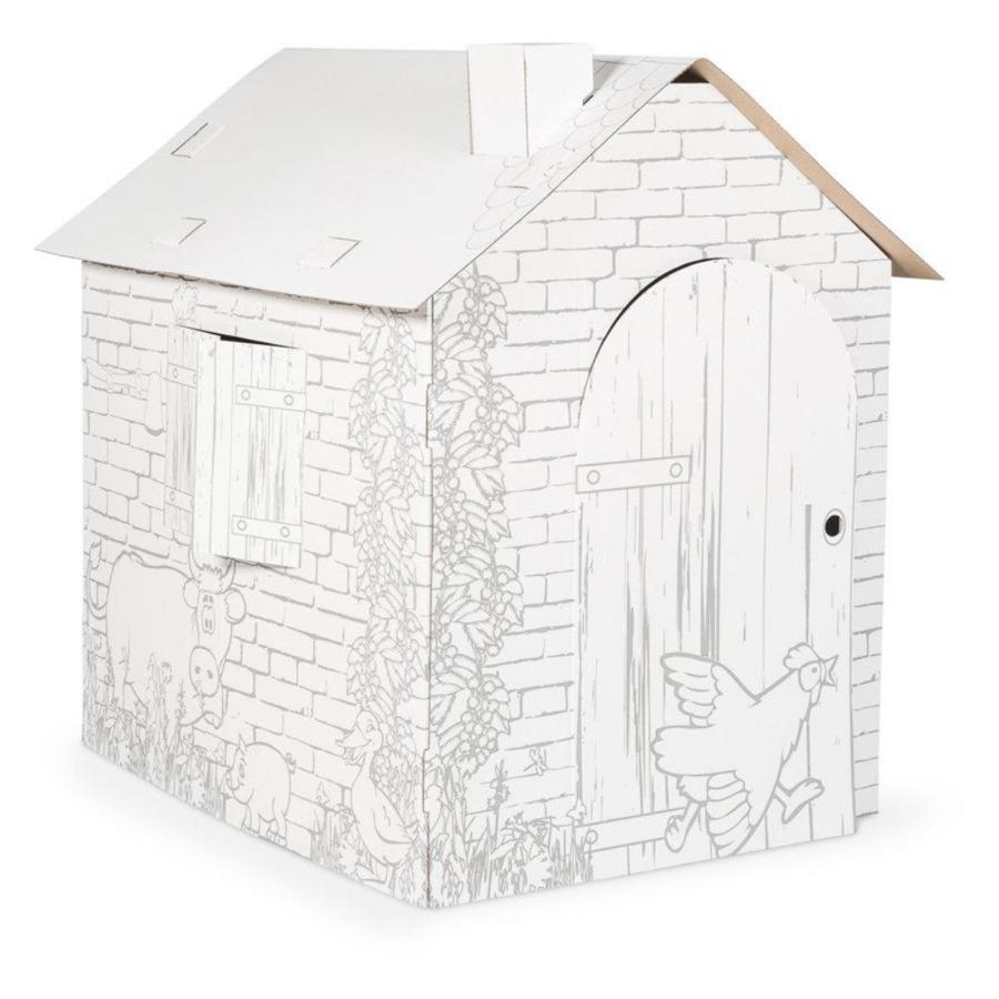 Kartónový domček